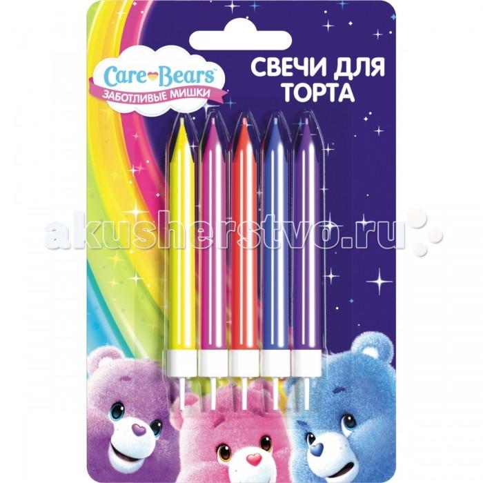 Товары для праздника Care Bears Набор свечей с держателями Заботливые мишки мишки из книжки набор мерлин