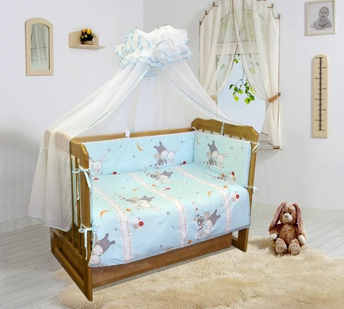 Бампер для кроватки Soni Kids Лунные сны