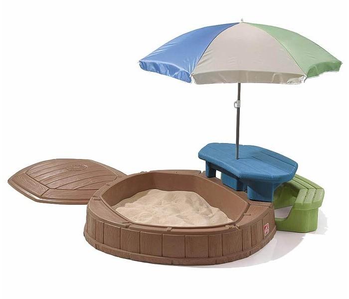 Летние товары , Песочницы Step 2 Песочница со столиком арт: 36680 -  Песочницы