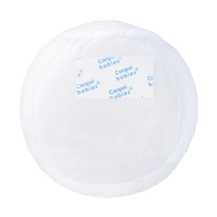 Гигиена для мамы Canpol Вкладыши для бюстгалтера впитывающие с нескользящим слоем 60 шт. 1/652