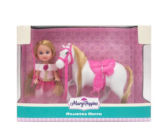 Куклы и одежда для кукол Mary Poppins Кукла Мегги Любимая лошадка куклы mary poppins кукла функциональная 30см
