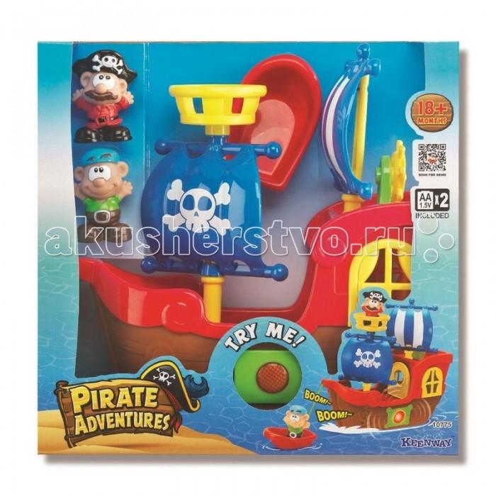 Игровые наборы Keenway Игровой набор Приключения пиратов черная жемчужина корабль капитана джека воробья