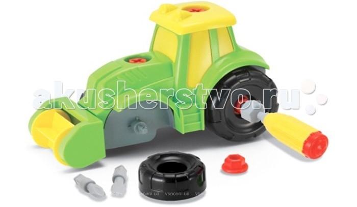 Конструкторы Keenway Build & Play Трактор манишка детская keenway keenway конструктор build