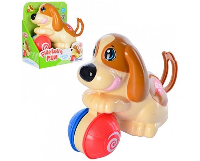 Развивающие игрушки Keenway Заводная игрушка Щенок с мячиком keenway развивающая игрушка собачья служба полицейский
