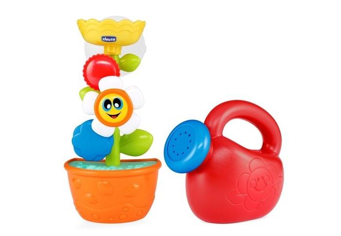Купание малыша , Игрушки для ванны Chicco Игрушка для ванны Лейка с цветком Bath Flower арт: 367788 -  Игрушки для ванны