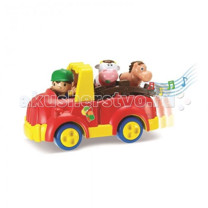 Машины Keenway Машинка Веселая ферма barneybuddy barneybuddy игрушки для ванны стикеры веселая ферма