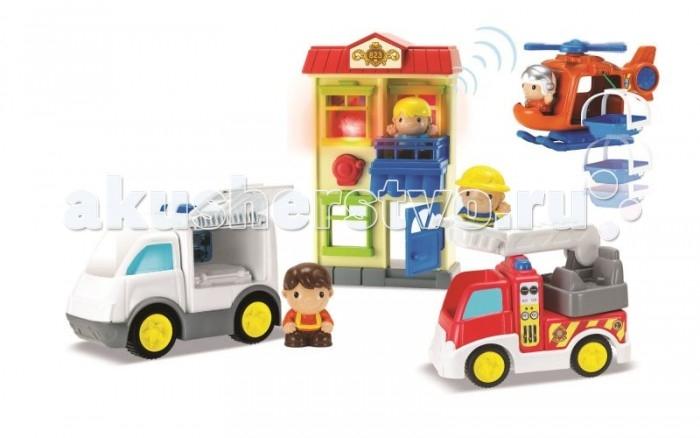 Игровые наборы Keenway Игровой набор Спасатели 911 (большой)