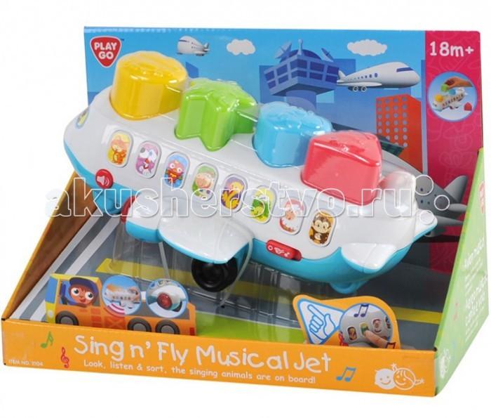 Сортеры Playgo Самолет сортеры playgo развивающая игрушка самолет сортер