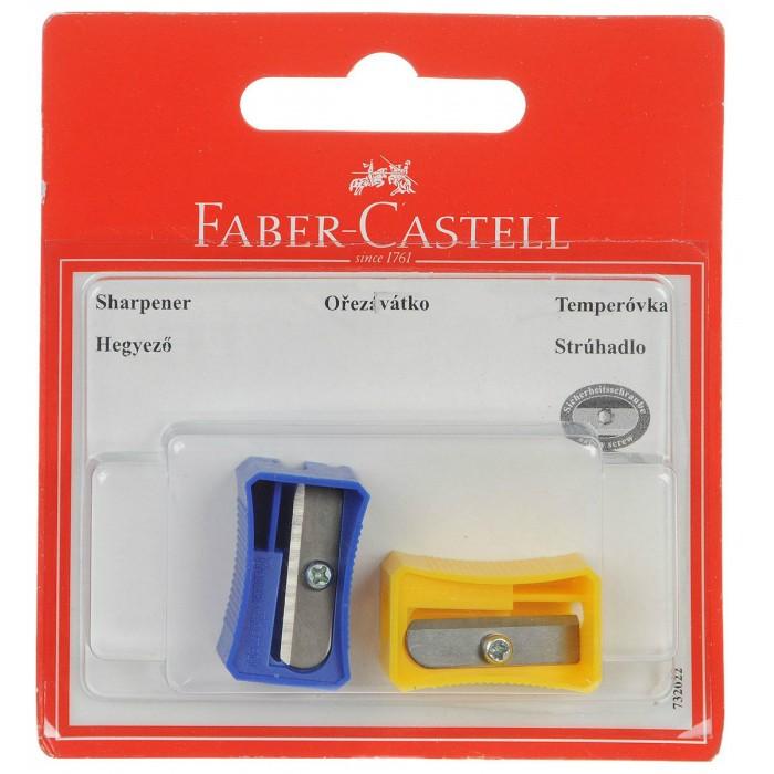 Канцелярия Faber-Castell Точилка в блистере 2 шт. вытяжка faber ray x v a60