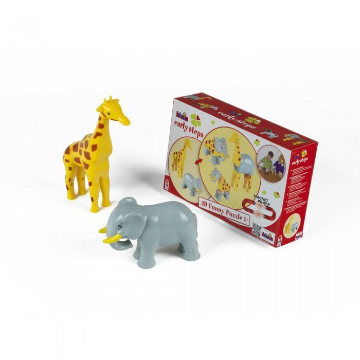 Klein Магнитные пазлы Жираф и слон