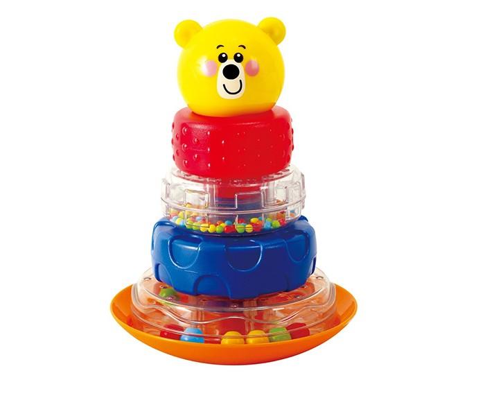 Развивающие игрушки Playgo Пирамида-неваляшка Мишка развивающие игрушки unimax волшебная развивающая пирамида