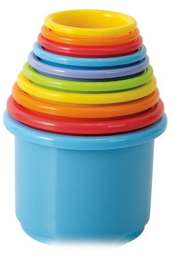 развивающие игрушки playgo боулинг Развивающие игрушки Playgo Пирамида из стаканчиков