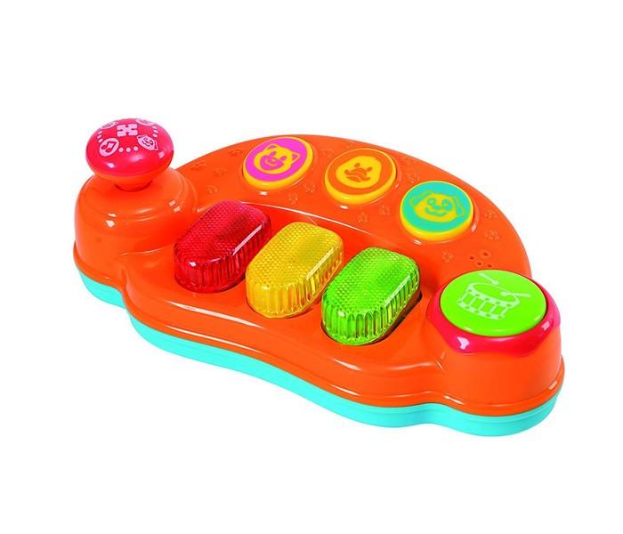 Музыкальная игрушка Playgo ПианиноПианиноПианино Playgo со звуковыми и световыми эффектами.  Замечательное детское пианино, с помощью которого детишки выучат свои первые ноты на светящихся клавишах.  Сочиняйте свои мелодии или слушайте приятную успокоительную музыку.<br>