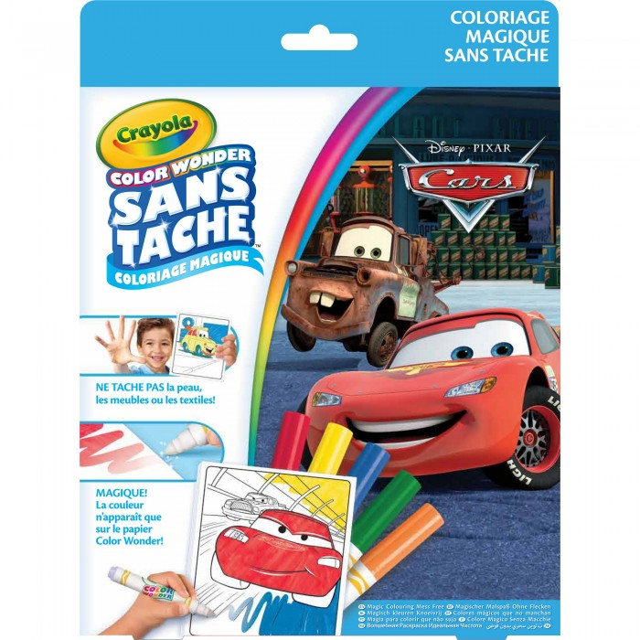 Раскраски Crayola Color Wonder Тачки раскраска crayola color wonder тачки 12787