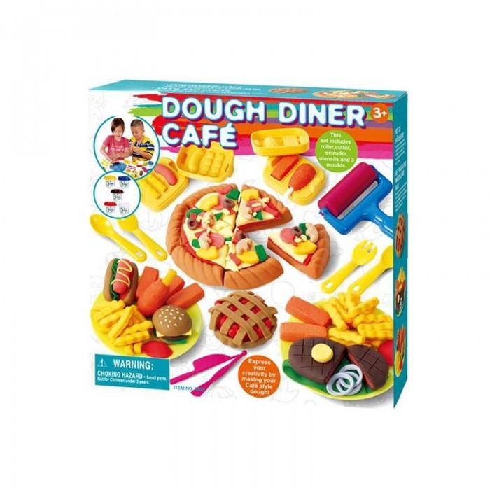Всё для лепки Playgo Набор Кафе-закусочная всё для лепки playgo набор с аксессуарами