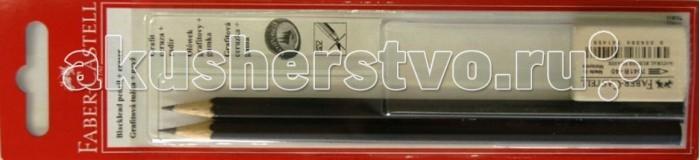 Фото Карандаши, восковые мелки, пастель Faber-Castell Чернографитовый карандаш 1111 3 предмета