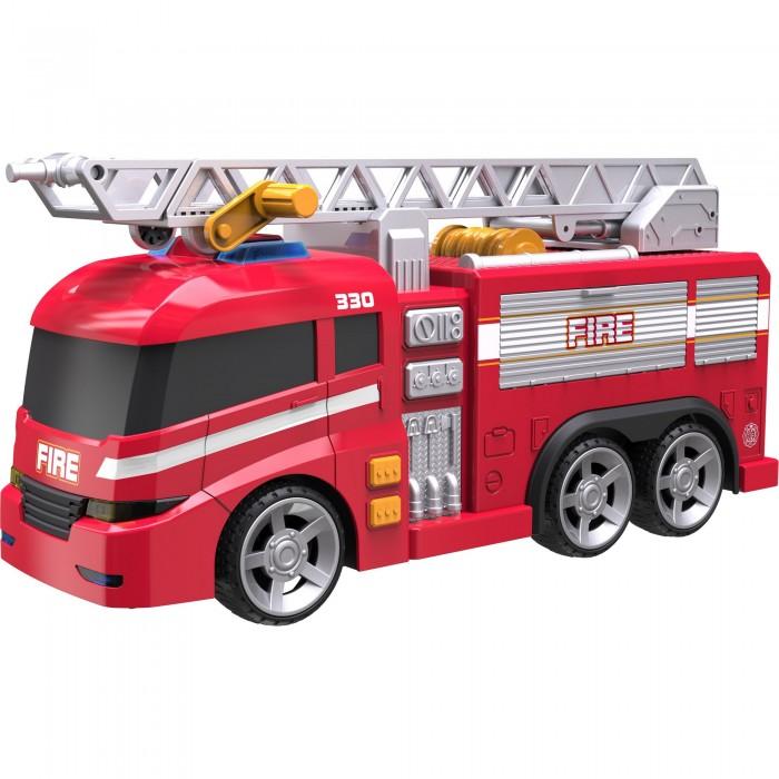 Машины HTI Машинка Roadsterz Пожарная пламенный мотор машинка инерционная volvo пожарная охрана
