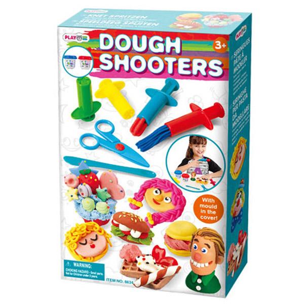 Всё для лепки Playgo Набор с аксессуарами всё для лепки fun dough набор пластилина 4 банки 1 бонус