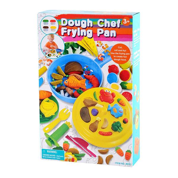 Всё для лепки Playgo Набор Сковорода шеф-повара набор для лепки playgo play 8636