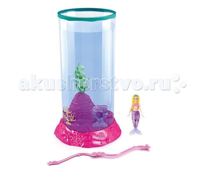 Интерактивная игрушка Robofish Подводное царство. Моя Красавица Русалочка МаринаПодводное царство. Моя Красавица Русалочка МаринаНабор Подводное царство:аквариум с декоративными элементами + Моя Красавица Русалочка Марина.  В этом наборе представлена волшебная робо русалочка по имени Марина, в комплекте со специальным аквариумом, где миниатюрная морская красавица сможет показать всё, на что она способна.   Благодаря новейшим разработкам, применённым в создании этой превосходной игрушки, русалочка может плавать, выполняя очень реалистичные движения, постоянно менять направления или же исполнять какие-либо трюки в воде. Наблюдать за этим маленьким чудом одно удовольствие!<br>