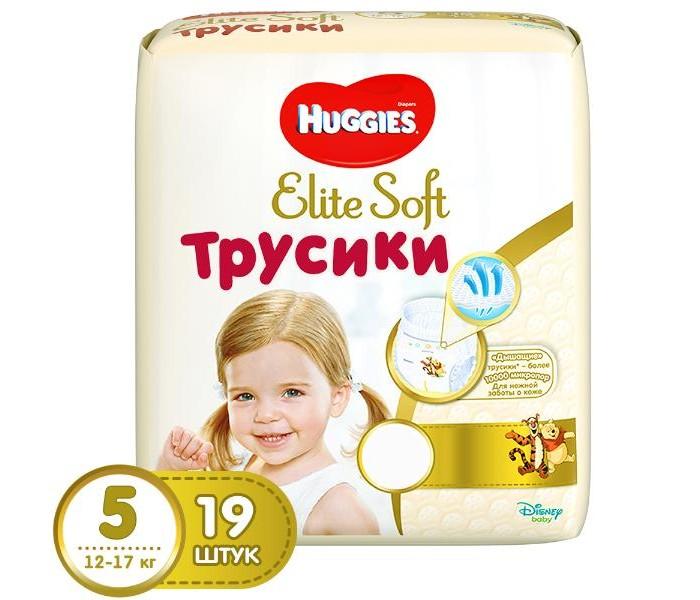 Подгузники-трусики Huggies Подгузники-трусики Elite Soft 5 (12-17 кг) 19 шт.