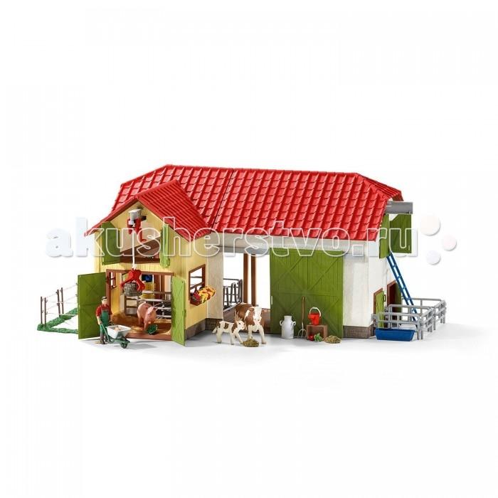 Игровые наборы Schleich Игровой набор Ферма с животными игровые наборы tomy игровой набор приключения трактора джонни и лошади на ферме