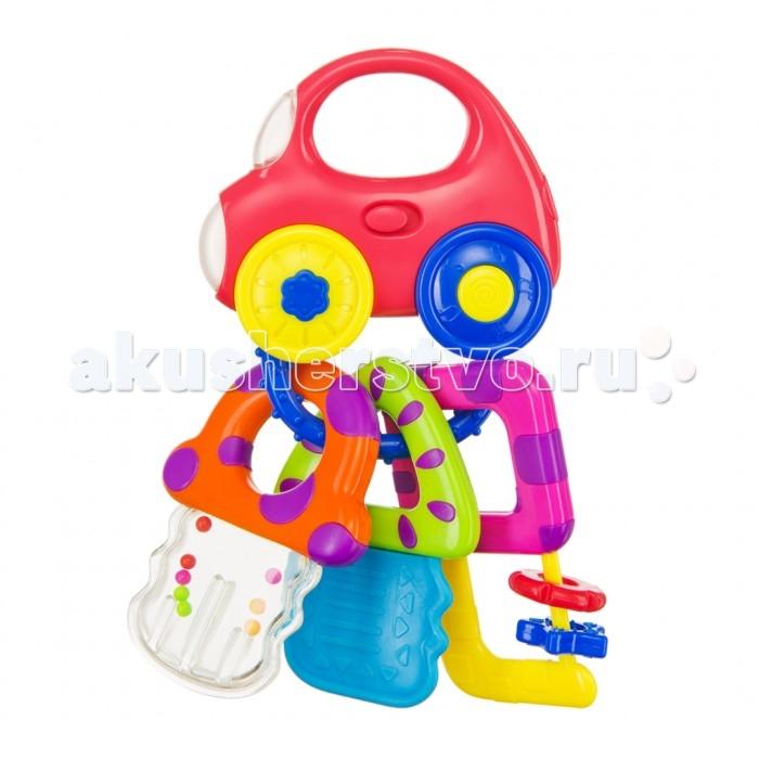 Развивающие игрушки Happy Baby Музыкальный брелок Baby Car Keys брелок для машины рено