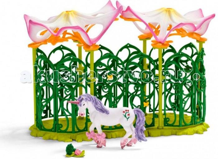 цена Игровые наборы Schleich Игровой набор Эльфийская конюшня с единорогом