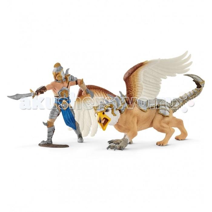 Игровые фигурки Schleich Воин с грифоном фигурки игрушки schleich дракон воин