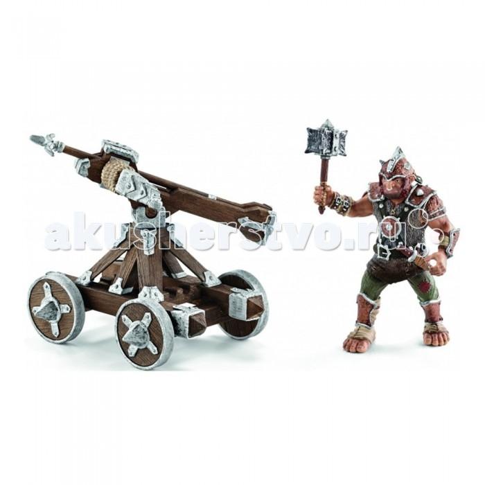 Игровые фигурки Schleich Набор Воин с оружием schleich игровой набор пещера со львом