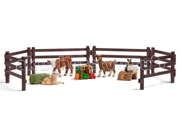 Игровые наборы Schleich Игровой набор Детский зоопарк игровые наборы dickie игровой набор аэропорт