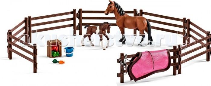 Игровые наборы Schleich Игровой набор Загон с животными schleich большой набор заводь с животными