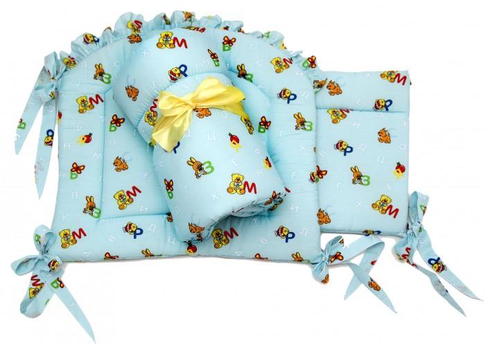Бортики в кроватку Топотушки Л.01.27 бортики в кроватку nattou charlotte