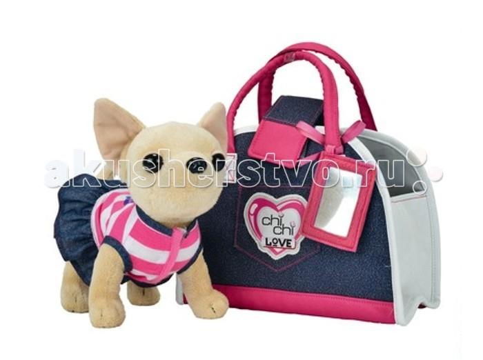Мягкая игрушка Simba Собачка Чихуахуа Джинсовый стиль Chi Chi Love от Акушерство