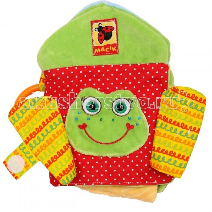 Развивающие игрушки Macik Книжка-подвеска Ферма игрушки подвески amico развивающая игрушка подвеска крабик