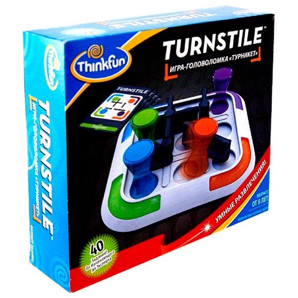Игры для школьников Thinkfun Игра-головоломка Турникет, Игры для школьников - артикул:37455