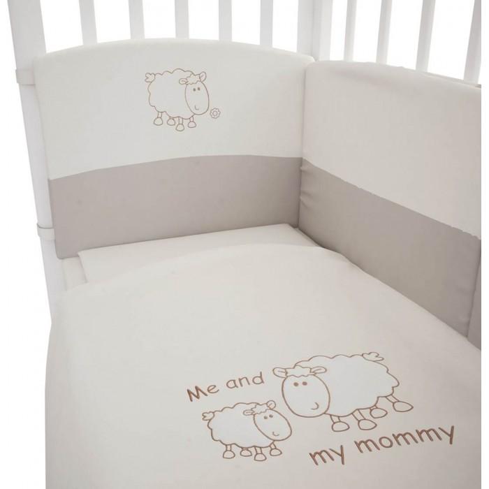 Постельное белье Fairy Я и моя мама 140х70 (3 предмета) постельное белье fairy жирафик 140х70 3 предмета