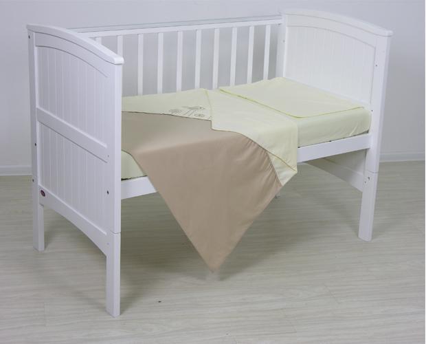 Постельное белье Fairy Волшебная полянка 140х70 (3 предмета) постельное белье fairy жирафик 140х70 3 предмета