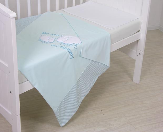 Постельное белье Fairy Белые кудряшки 140х70 (3 предмета) постельное белье fairy жирафик 140х70 3 предмета