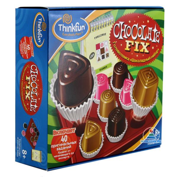 Игры для школьников Thinkfun Игра-головоломка Шоколадный набор, Игры для школьников - артикул:37474