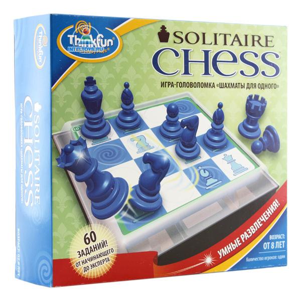 шахматные фигуры неваляшки дуб махагон фндм Настольные игры Thinkfun Игра-головоломка Шахматы для одного