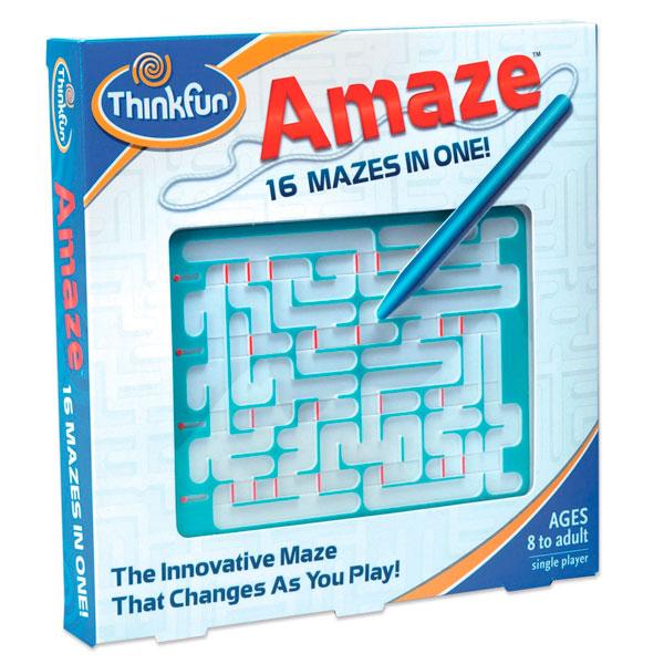 Игры для школьников Thinkfun Игра-головоломка Лабиринт Amaze стилус