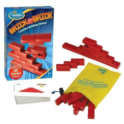 Игры для школьников Thinkfun Игра-головоломка Кирпичики Brick by Brick brick master кирпичики беседка