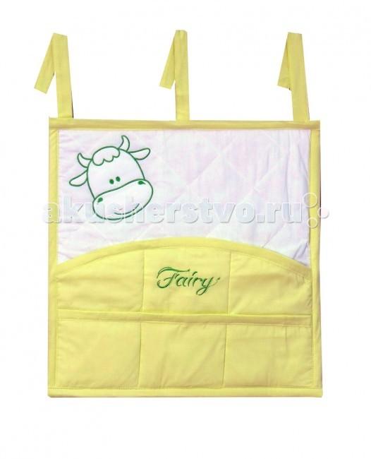 Карманы и панно Fairy Карман для кроватки На лугу карманы и панно fairy сумка для пеленок и подгузников жирафик
