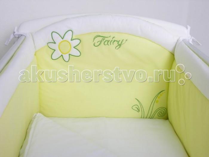 Бортики в кроватку Fairy На лугу