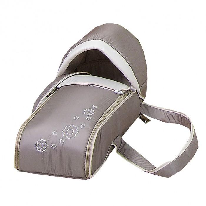 Сумка-переноска Selby люлька-кокон Я и моя мамалюлька-кокон Я и моя мамаЛюлька-кокон Selby Я и моя мама предназначена для переноски детей весом до 7.5 кг.  Особенности:  люлька устанавливается в любые модели колясок для новорожденных очень практичная для мамы и удобная для младенца защищает ребенка от ветра и холода люлька оснащена ручками и плечевым ремнем для переноски капор отстегивается благодаря жесткой основе предназначена для новорожденных детей<br>