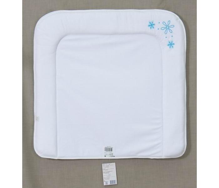 Накладки для пеленания Fairy Накладка для пеленания мягкая Белые кудряшки 70х67 карманы и панно fairy сумка для пеленок и подгузников белые кудряшки