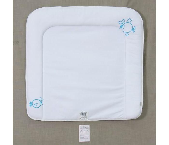 Накладки для пеленания Fairy Накладка для пеленания мягкая Жирафик 70х67 сумка для пеленок и подгузников fairy жирафик цвет голубой 50 см х 40 см