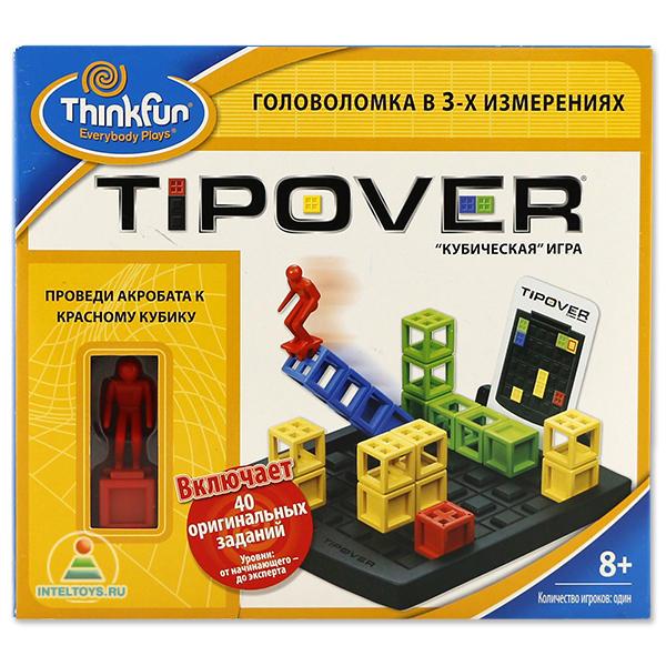 Игры для школьников Thinkfun Игра-головоломка Кубическая головоломка Tipover, Игры для школьников - артикул:37548