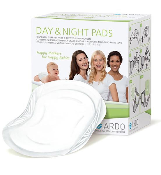 Гигиена для мамы Ardo Одноразовые прокладки для бюстгальтера Day&Night Pads 30 шт. аксессуар дополнительный набор для молокоотсоса ardo calypso double pumpset 63 00 223